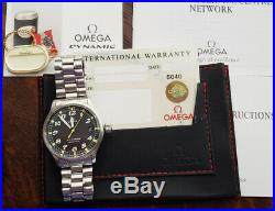 Omega Dynamic 5200.50 Automatic Full Set with All Original Accessories