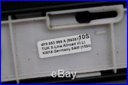 Org Audi A6 4F C6 Allroad Set Türleisten 4F9853969A Tür Leiste Breitbau /1X