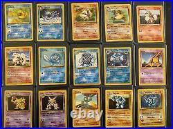 Original 151 Pokemon Cards Complete Set All 45 Holos! Vintage Collection