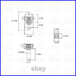 Original Guitar Bass Kit Wiring Set Harness Genuine Hofner HCT500 Series