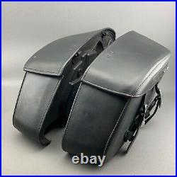 Original Harley-Davidson Leder Kofferset