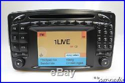 Original Mercedes Comand 2.0 E/Head Unit W209 Navigationssystem CLK-Klasse C209