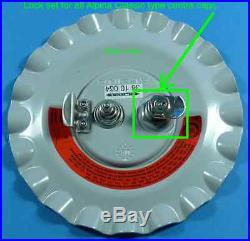 Original rare lock set for all BMW Alpina CLASSIC centre cap part number 3613119
