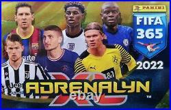 PANINI FIFA 365 2022 Adrenalyn XL SET BINDER + all 378 cards