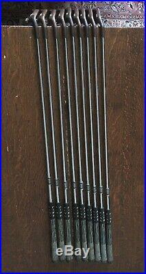 PING ZING Beryllium Copper BeCu Iron Set. 2-Wedge. ALL ORIGINAL. Matching #s