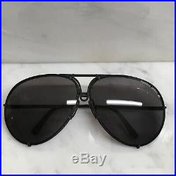PORSCHE DESIGN CARRERA LARGE 5621 SUNGLASSES With2 SETS OF NOS LENSES, CASE & WIPE