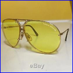 PORSCHE DESIGN VINTAGE SMALL NOS 5623 CARRERA SUNGLASSES With2 SETS OF LENES SWEET