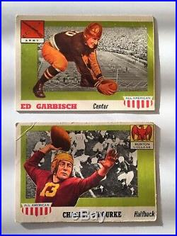 PSA 1955 Topps All American Football Nr Complete Set Thorpe Four Horsemen Ex-Mt