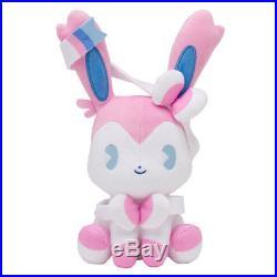 Pokemon Center Original Eevee Evolution All Stars Mix Au Lait Cute Plush Set