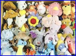 Pokemon Center Original Set of All 151 Pokémon Fit Sitting Cuties Plush Red Blue