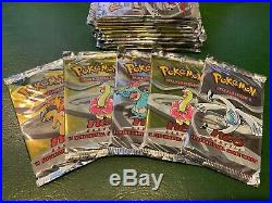 Pokemon Original Neo Set Booster Pack Sealed Pokemon Cards All 4 Art Box Incl