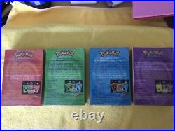 Pokemon Theme Deck All 4 Base set theme decks Original 1999 -Factory Sealed