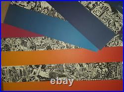Pollock Live Phish poster set - all 4