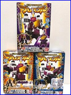 Power Rangers Dino Charge Kyoryuger Mini Pla All Megazord Complete set 18 BOX