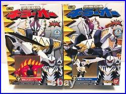 Power Rangers Dino Thunder Abaranger Mini Pla All Megazord 11 BOX set NEW Bandai