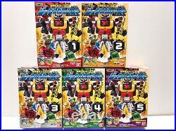 Power Rangers Zyuohger Mini Pla All MEGAZORD 31 BOX set NEW Bandai FedEx F/S