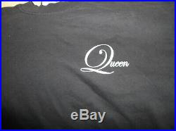 Queen A Day At The Races News Opera tour leather Jacket all sizes Live 2 CD Set