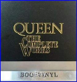 Queen The Complete Works Vinyl 14LP Box Set with all original contents