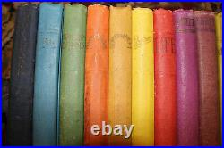 RAINBOW Watchtower ALL 20 BOOKS nice SET JF Rutherford Jehovah's Witnesses IBSA