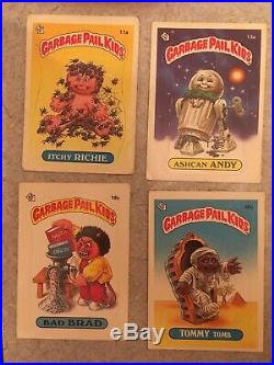 RARE! Garbage Pail Kids Original Series 1 Complete 88 Card Set With All Variations
