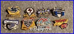 RARE XFL Set of All 8 Original Football Teams OBO