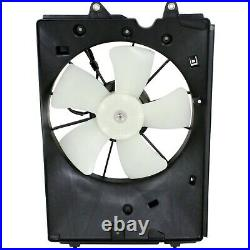 Radiator Cooling Fan with A/C Condenser Fan For 2009-2014 Honda Pilot Left & Right