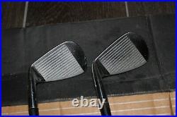 Rare All Original Nike Forged Blades Iron Set 3-pw Project X 6.5 Stiff Shafts
