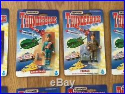 Rare Original Set Of All 10 Thunderbird Figures
