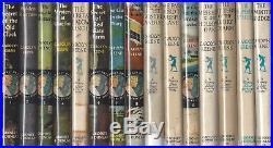 SET OF ALL 38 NANCY DREW ORIGINAL HARDCOVERS WithDUST JACKETS 1930-1961