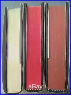 SIGNED Cormac McCarthy Border Trilogy The Crossing Hardcover Book Set All Plain