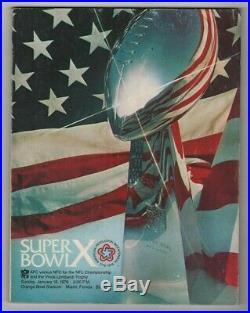 SUPER Bowl Program Complete Set (1-54) All Original Stadium Issued Programs