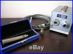 Schoeps M221A ALL Original Set microphone CM9 Capsule TELEFUNKEN M155 Perfect