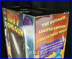 Set of 4 NOS Giant KISS Love Gun Figures 24 Tall 1998 Fun 4 All Limited Edition