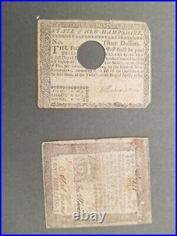 Set of Colonial Currency of all Thirteen Colonies Museum Framed to your specs