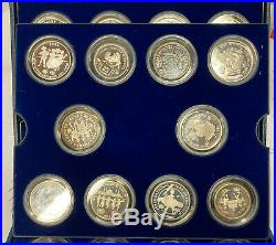 Silver Set UNICEF Year of the Child All Proof 30 Coins Original Case
