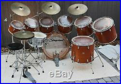 Slingerland Drums Vintage Kit Classic 19791980 All Original Complete Set