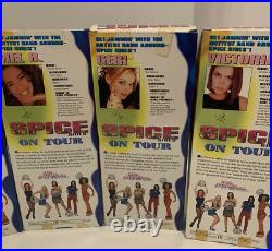 Spice Girls Dolls All 5 On Tour 1998 Ginger Posh Scary Baby Sporty Set