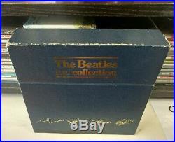 THE BEATLES E. P. Collection UK Original BEP-14 Blue Box Set All Vinyls Mint