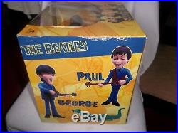 THE BEATLES McFARLANE DELUXE BOXED SET TOY MODEL ALL FIGURES BAND & CROCODILE