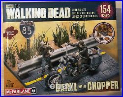 The Walking Dead Construction Building Sets Lot Of 7 Mcfarlane Toys All NIB