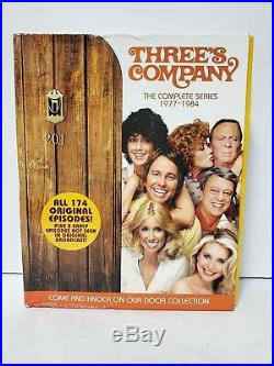 Threes Company DVD Boxed Set The Complete Series, All 174 Original Episodes
