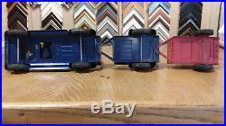 Tonka Pickup Truck Farm Set. 1957 All Original Tailgates, Chains. Complete