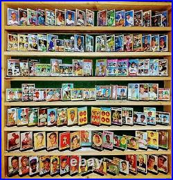 Topps Baseball Card Collection 69 Yrs 63 Full Sets 32 MANTLE ALL AARONS withRookie