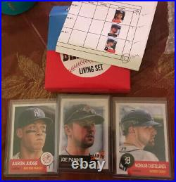 Topps MLB Living Complete Set #1-#404 In Boxes WithInvoices & Wrap ALL OF THEM