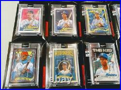 Topps Project 2020 Ken Griffey Jr Complete Set All 20 Artists Great Set
