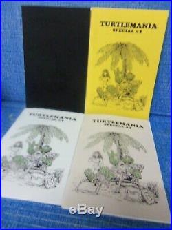 Turtlemania Black, Gold, Silver, White Anniv Set All 4 Origin Publisher 16/25