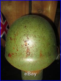 US Vietnam M1 Helmet set 1970 Graphitti cover Mitchell all original complete set