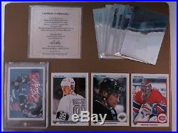 Upper Deck 1990 All in Gretzky Auto 655/2000 + Full Set + Promo cards + Holo +++