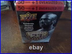 Upper Deck Michael Jordan 2010 Legacy Box Set Cards OPEN BOX / ALL Sealed cards
