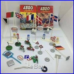 VINTAGE LEGO SYSTEM 810 LEGO TOWN ALL ORIGINAL 1962 VERY RARE 99% Complete +